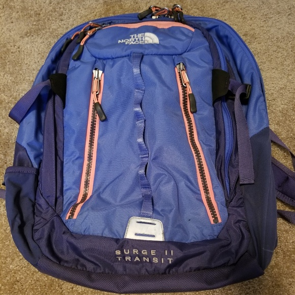 a6b86bee9 North Face Surge II Transit Backpack
